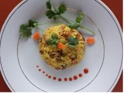 Happy fried rice