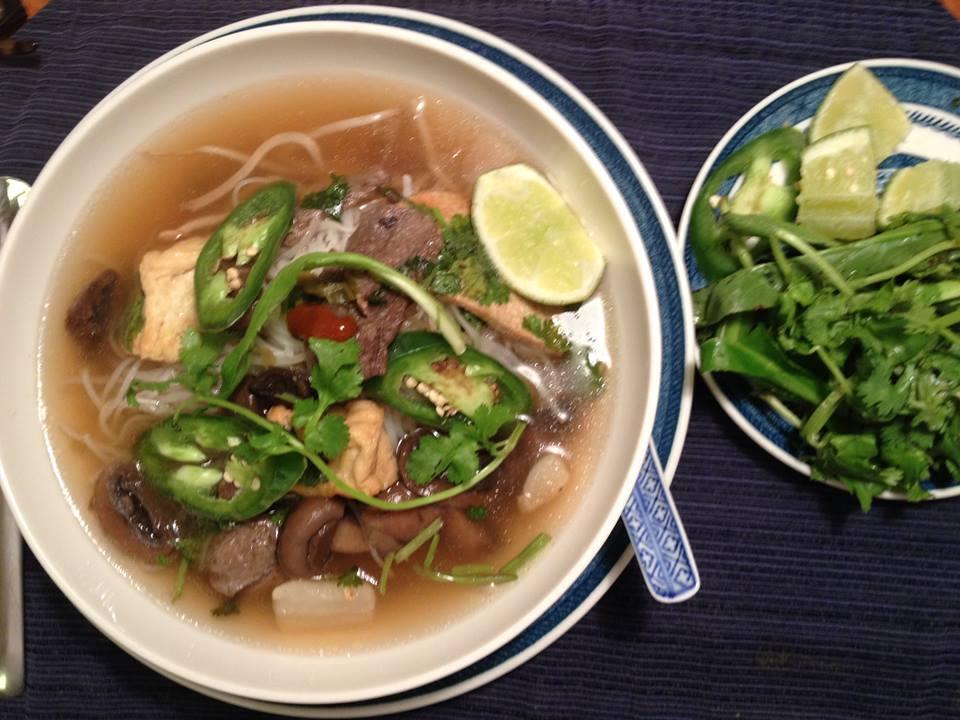 Pho Chay – Vegetarian Pho noodle soup – Tra Vinh Networks
