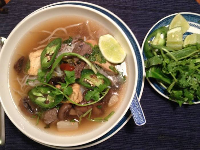 Pho Chay – Vegetarian Pho noodle soup | Tra Vinh Networks